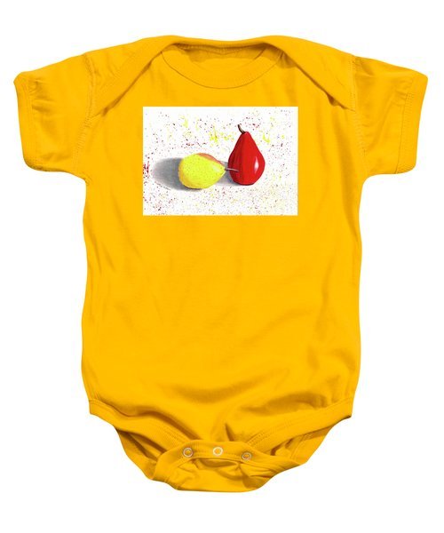 A Pear Of Friends Baby Onesie