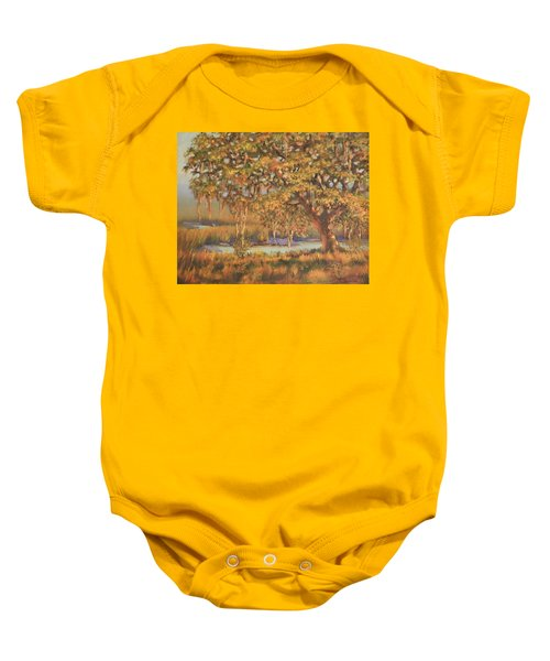 Afternoon Glow Baby Onesie