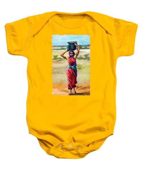 Water Carrier Baby Onesie