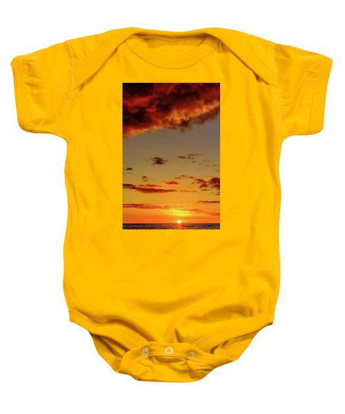 As The Sun Touches Baby Onesie