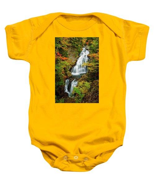 Autumn Falls, Crystal Cascade Baby Onesie