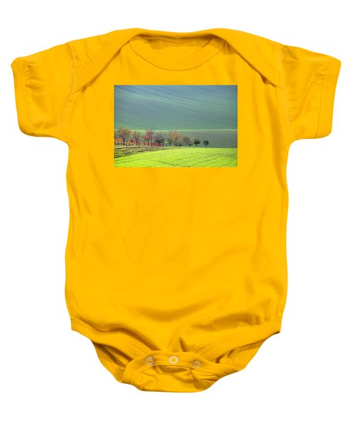 Autumn In South Moravia 18 Baby Onesie