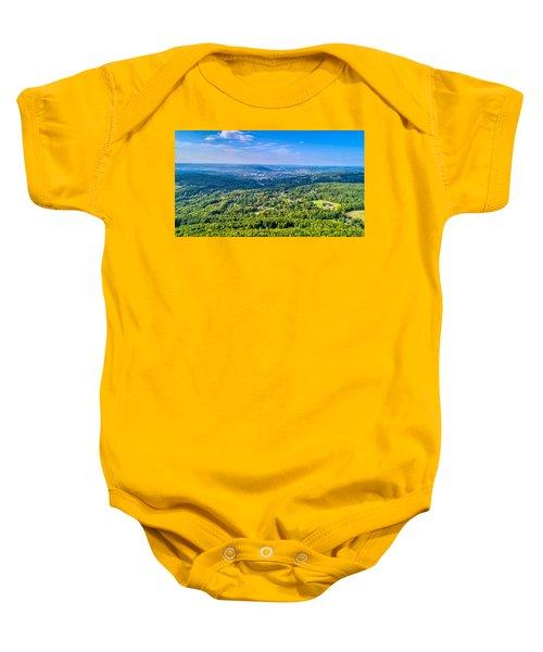 Binghamton Aerial View Baby Onesie