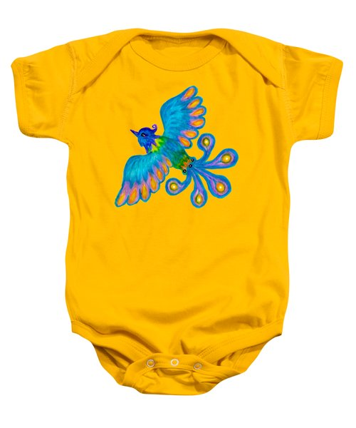 Blue Bird Baby Onesie
