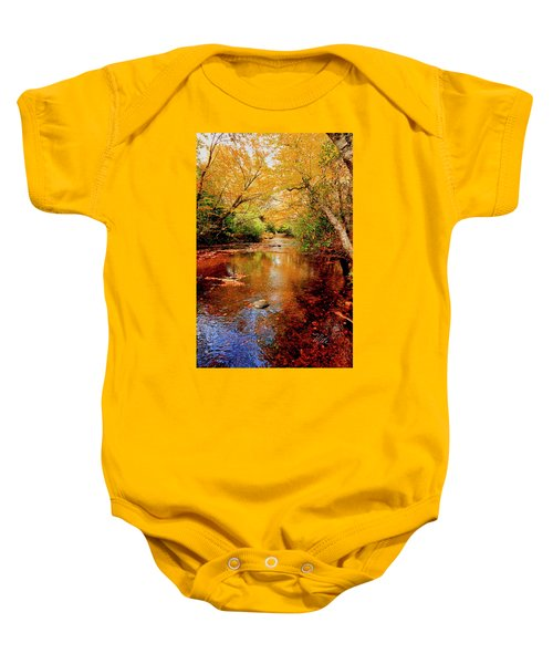 Boone Fork Stream Baby Onesie