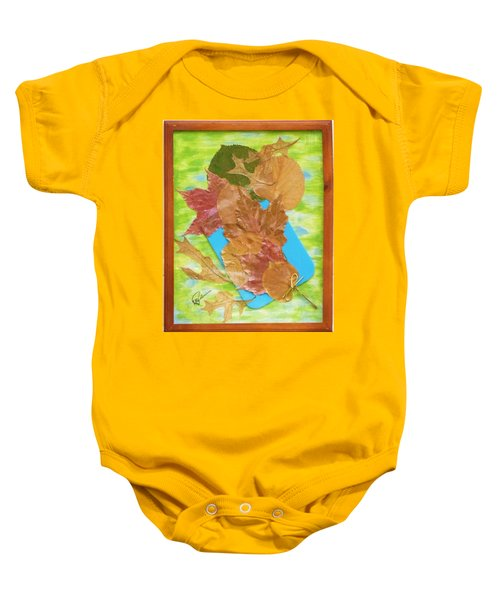Bouquet From Fallen Leaves Baby Onesie