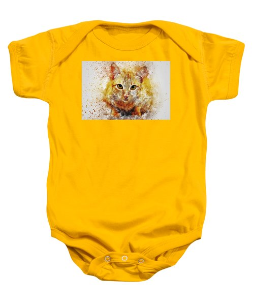 Cat's Eye Baby Onesie