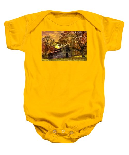 Chill Of An Early Fall Baby Onesie