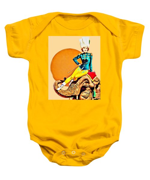Circus Poster 01 Baby Onesie