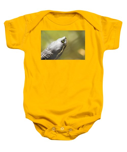 Close Up Of A Turtle. Baby Onesie