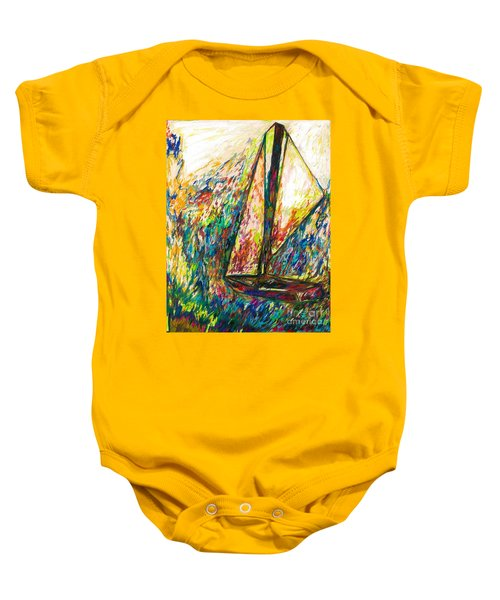 Colorful Day On The Water Baby Onesie