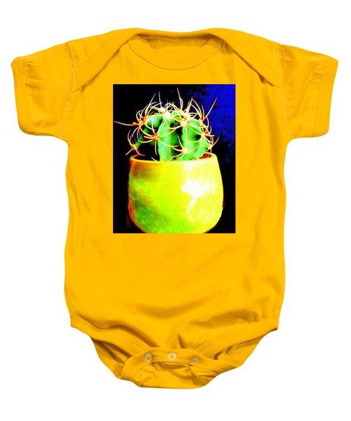 Contemporary Cactus Baby Onesie