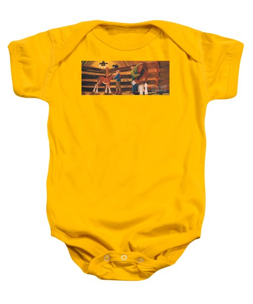 Cricket And Ginger Baby Onesie