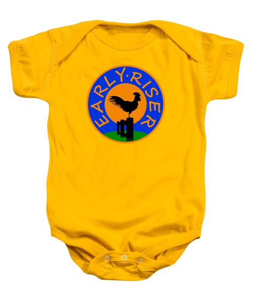 Early Riser Baby Onesie