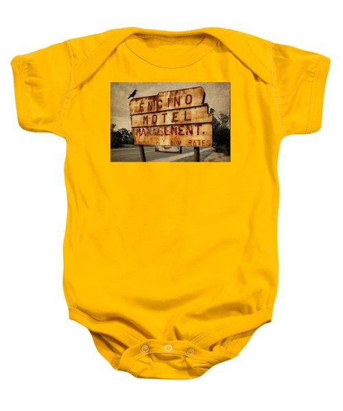 Encino Hotel Baby Onesie