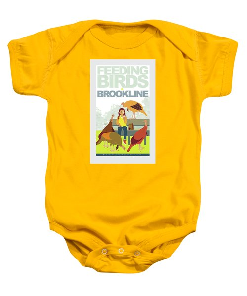 Feeding The Birds Baby Onesie