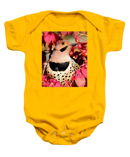 Yellow-shafted Flicker Baby Onesie