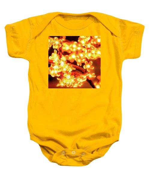 Flower Lights 5 Baby Onesie