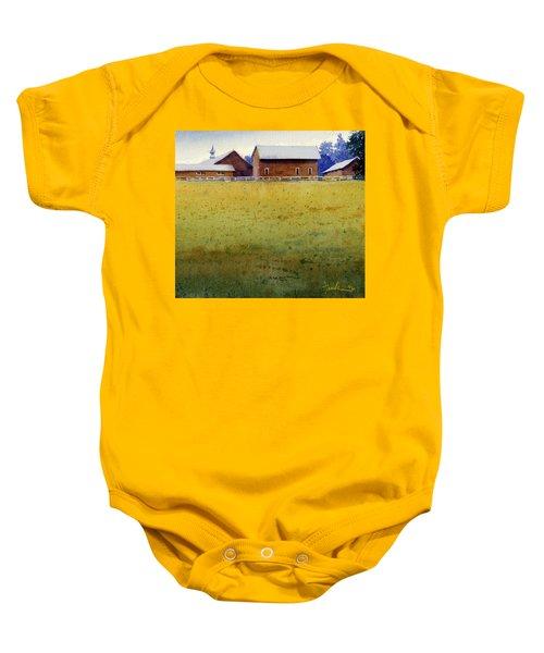 Garner Farm, Mineral Point, Wi Baby Onesie