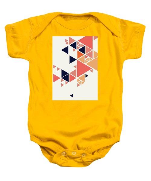 Geometric Painting 1 Baby Onesie