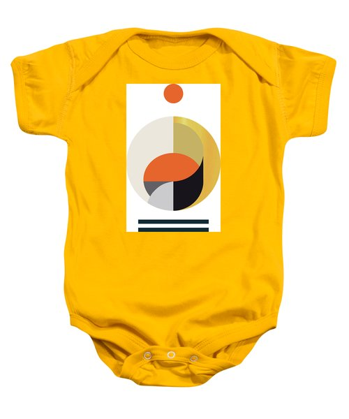 Geometric Painting 12 Baby Onesie