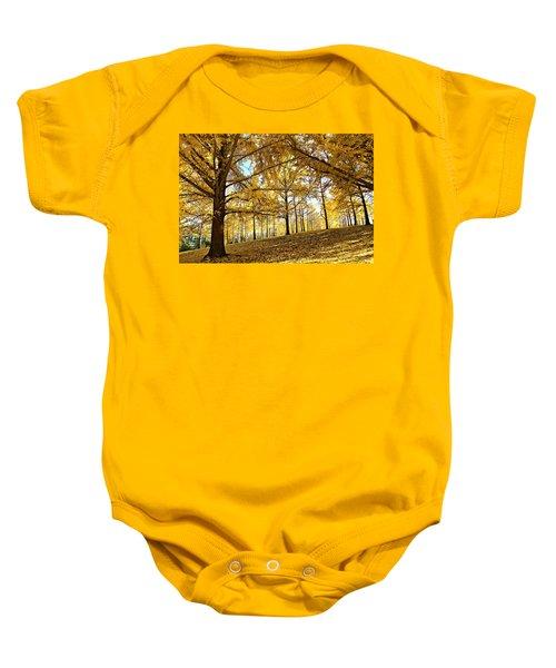 Ginkgo Grove Baby Onesie