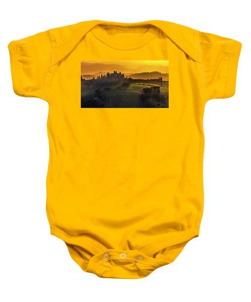 Golden Tuscany Baby Onesie