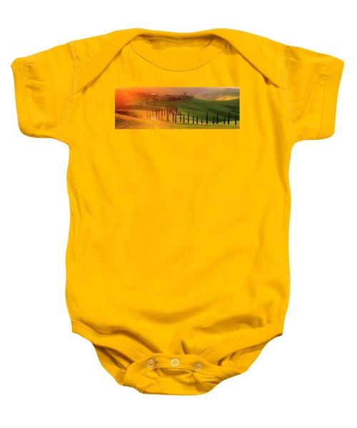 Golden Tuscany II Baby Onesie