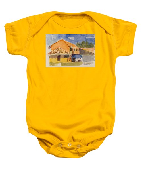 House Across The Way Baby Onesie