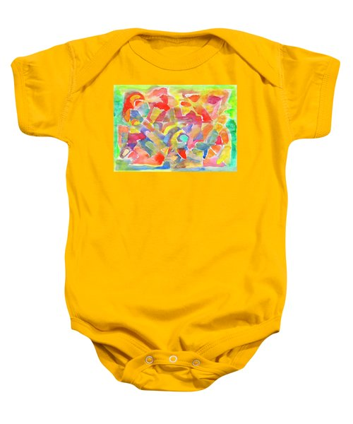 In The Circus Arena Baby Onesie