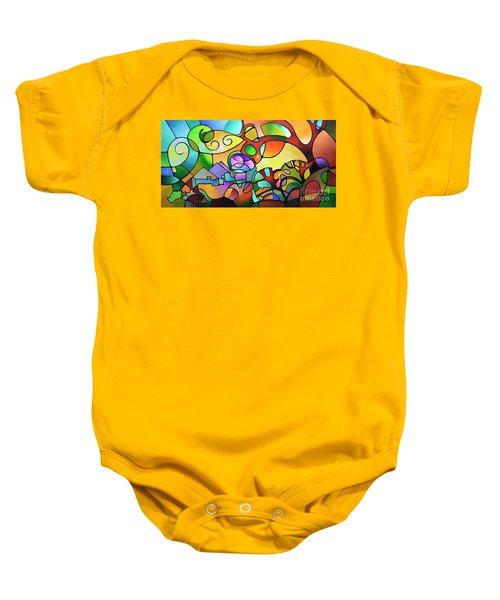 Into The Day Baby Onesie
