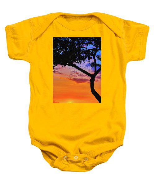 Just Another Kona Sunset Baby Onesie