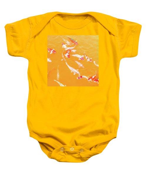 Koicarpscape 5 Baby Onesie
