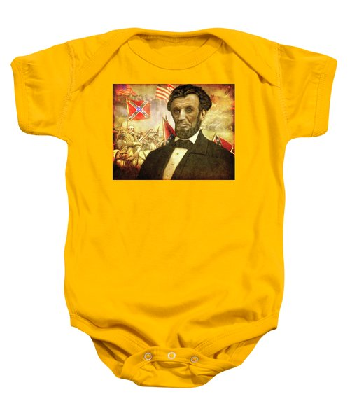 Lincoln Baby Onesie