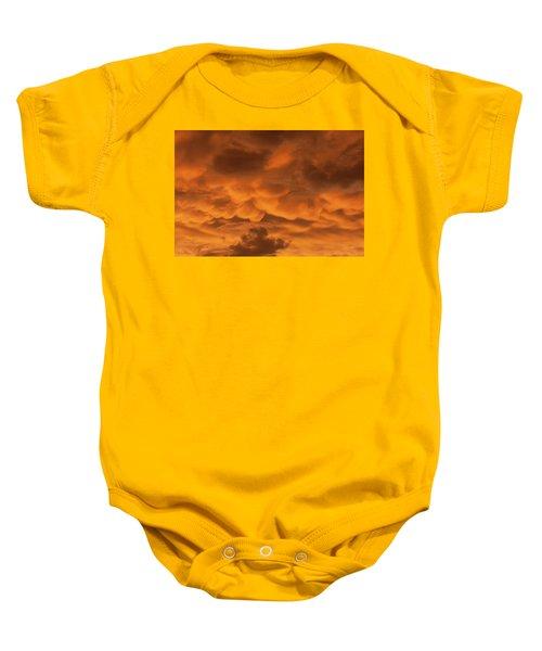 Mammatus Clouds Baby Onesie