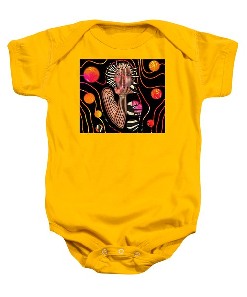 Mask Of The Sea Baby Onesie
