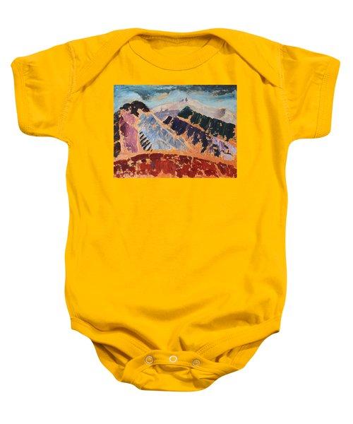 Mosaic Canigou Baby Onesie