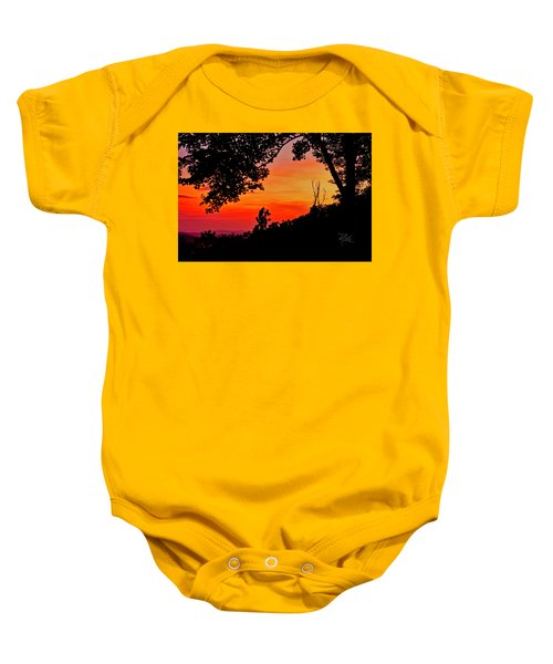 Mountain Sunrise Baby Onesie