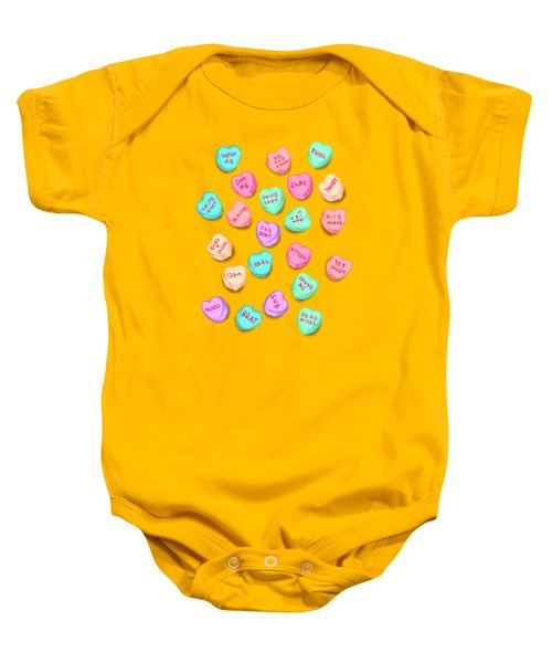 New Convo Hearts Baby Onesie