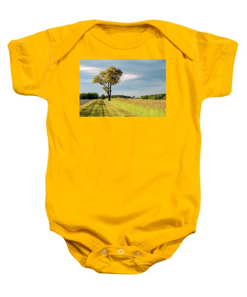 Off The Road Baby Onesie
