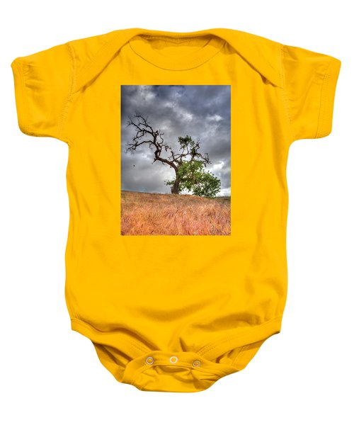 Old Oak Tree Baby Onesie