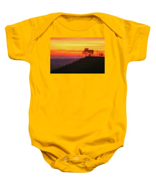 On The Viewpoint Baby Onesie