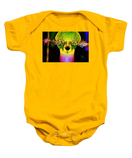 Orchid Study One Baby Onesie