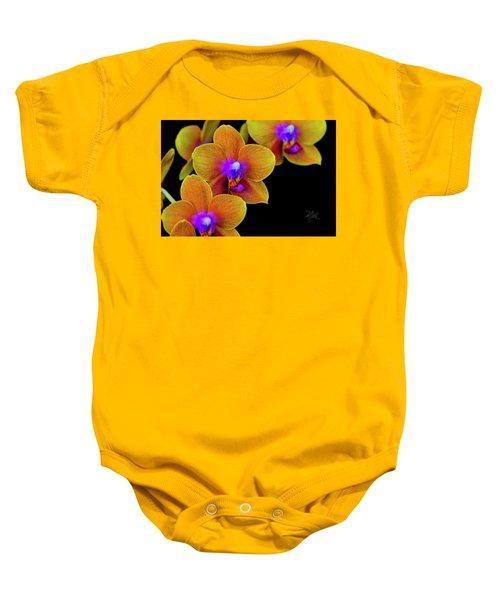 Orchid Study Ten Baby Onesie