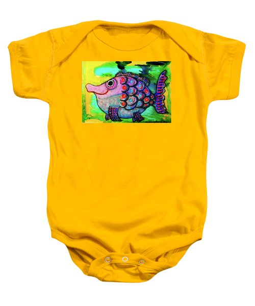 Oscar The Nosefish Baby Onesie