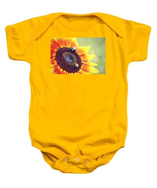 Painted Sun Baby Onesie