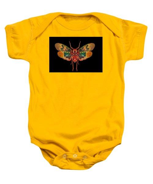 Planthopper Lanternfly Baby Onesie