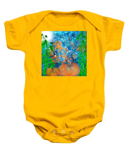 Pumpkin Patch Baby Onesie