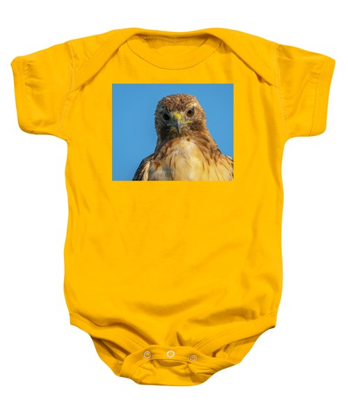 Red Tail Hawk Baby Onesie