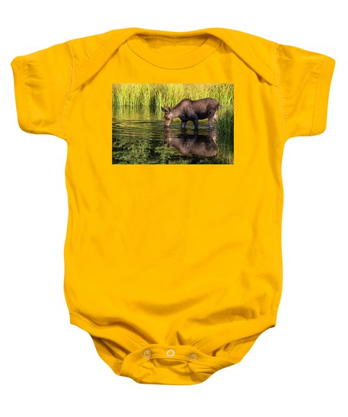 Baby Onesie featuring the photograph Reflection by Mary Hone